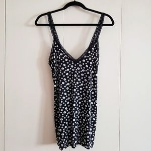 Nasty Gal Lace Trimmed Daisy Slip Dress